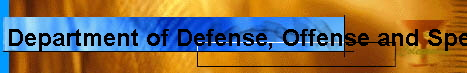 Department of Defense, Offense and Special Teams